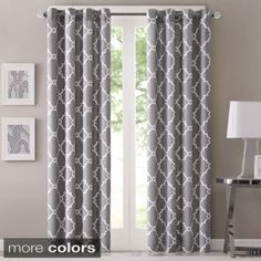 Lush Decor Edward Blackout Window Curtain Panel Pair | Overstock.com Shopping - The Best Deals on Curtains