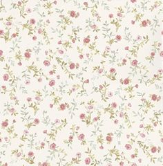 Sophie Toss (68882) - Albany Wallpapers - A pretty mini print floral design - showing in pink on a off white background. More colours are available. Please request a sample for true colour match.