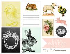 Free Spring/Easter Printable | Maggie Holmes