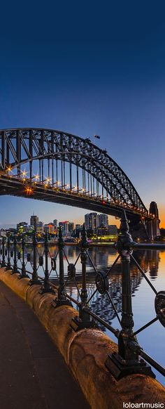 SYDNEY HARBOUR BRIDGE | SYDNEY | NEW SOUTH WALES | AUSTRALIA