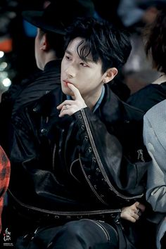 FY! MONSTA X SEXY ALL BLACK STYLE I.M