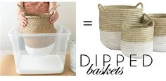 Easy Basket Projects