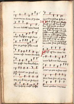Kolmarer Liederhandschrift Rheinfranken (Speyer?), um 1460 Cgm 4997  Folio 594