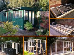 Playhouse Ideas, Garden Workshops, Play Houses, Home Organization, Office Ideas, Home Office, Tiny House, Outdoor Decor, Home Decor