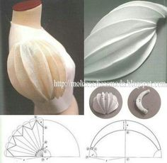 Best 7 Sleeve pattern alteration that will create a lovely drapin – SkillOfKing. Techniques Couture, Sewing Techniques, Pattern Cutting, Pattern Making, Dress Sewing Patterns, Clothing Patterns, Fashion Sewing, Diy Fashion, Fashion Tips
