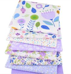 Bundle 5 tissu fat quarters-athena rose /& cream florals 100/% coton