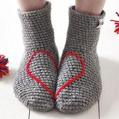 Love Heart Socks - cosy winter picnic