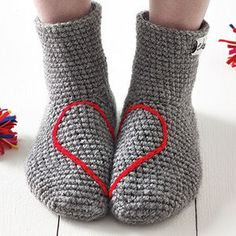 Love Heart Socks - gifts for teenagers