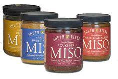 Sampler 1 - Four 1 lb. Glass Jars of Miso