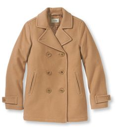 Excellent color for a peacoat :) Classic Lambswool Peacoat: Casual Jackets | Free Shipping at L.L.Bean
