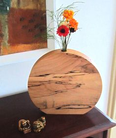 Vase - Wooden Vase of Spalted Maple