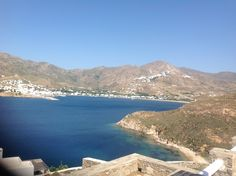 Astra houses in serifos, Greece.  View