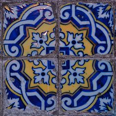 Azulejo (Portuguese: [ɐzuˈleʒu],) from the Arabic word Zellige زليج is a form of Portuguese painted, tin-glazed, ceramic tilework. They have become a typical aspect of Portuguese culture, having been produced without interruption for five centuries.     In Portugal, azulejos are found on the interior and exterior of churches, palaces, ordinary houses and even train stations or subway stations. They constitute a major aspect of Portuguese architecture as they are applied on walls, floors and…