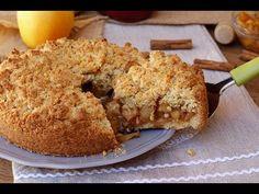 SBRICIOLATA DI MELE e cannella ricetta torta facile veloce