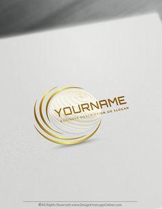 Create Free Modern Logos Using Premium 3D Globe Template and 3d logo maker tool
