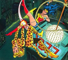 DC Women Kicking Ass - That Year Wonder Woman and Cheetah Fought on New Year's Eve