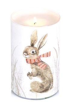 Festive Fragranced Pillar Candle