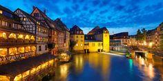 158 € -- Weihnachtsmarkt Straßburg & Nacht auf Schiff, -45%