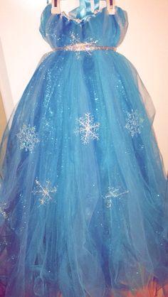 """Elsa """"frozen"""" """"tutu"""" dress"""
