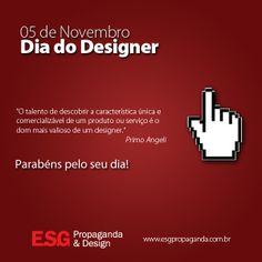 Dia do Designer.
