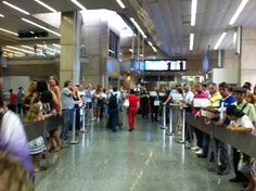 This is what awaits you when you pass through customs at Rio de Janeiro-Galeão International Airport.