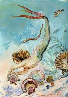 Mermaid, artist, Claire Fletcher