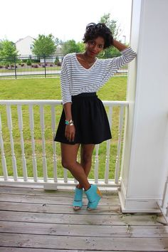 Bright Blue Shoes (by Monroe Steele) http://lookbook.nu/look/3615597-Bright-Blue-Shoes