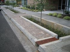 Smart stormwater management with this bioswale in Portland, OR. Click for source and visit the slowottawa.ca boards >> http://www.pinterest.com/slowottawa/