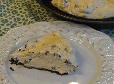 Chocolate Chip Peanut Butter Cream Cheese Pie