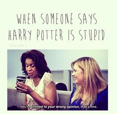 Harry Potter, ah dance moms. Holly doesn't often argue, but when she does, she owns cuz she's the smartest