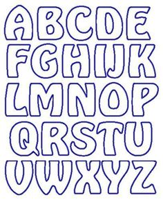 Alphabet applique templates beautiful fl garden alphabet letter graphics hover to zoom Free Printable Alphabet Templates, Alphabet Letter Templates, Stencil Templates, Applique Templates Free, Letter Patterns, Free Letter Stencils, Printable Stencils, Large Alphabet Stencils, Alphabet Quilt