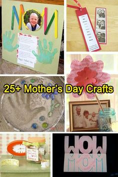 25+ Mother's Day craft ideas