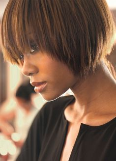 burnt honey bob - love the cut and color!!!!