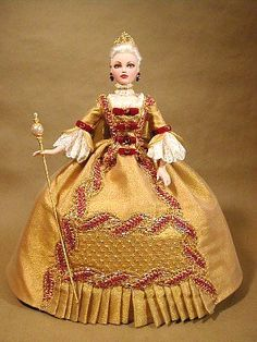 Catherine the Great-custom Gene Marshall doll.