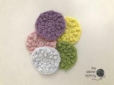 Crochet Nubby Stitch : Nubby Scrubbies - Free Crochet Pattern and Vanilla Sugar Scrub Recipe ...