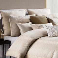 Designer Bedding Sets On Sale Refferal: 6285403030 Bedroom Black, One Bedroom, Home Decor Bedroom, Bedroom Plants, Bedroom Ideas, Masculine Bedding, Waterford Bedding, Hotel Collection Bedding, Queen Comforter Sets