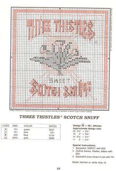 Three Thistles Snuff