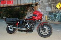 Bagger Stance With Dyna DNA/ Custom Harley-Davidson Dyna