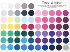 Barwy urody: Typy zimy - chłodna zima