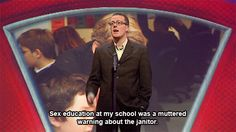 28 Of Frankie Boyle's Greatest-Ever Jokes British Humor, British Comedy, Frankie Boyle, Mock The Week, Scotland Funny, Funny Comedians, Hilarious, Funny Guys, Humor