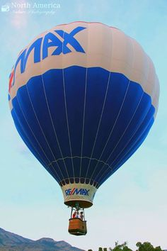 #REMAX Balloon at the Ogden Valley Balloon & Artist Festival courtesy of North America Nature Photography