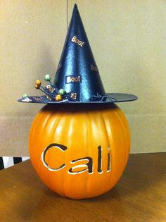 Personilized Pumpkin