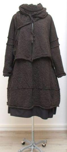 barbara speer - Ballonkleid gekochte Wolle alpaka - Winter 2015 - stilecht - mode für frauen mit format...