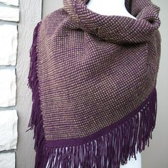 Three Easy Woven Brooklyn Tweed Projects Perfect for This Fall – Schacht Spindle Company Loom Hats, Brooklyn Tweed, Big Knits, Tweed Fabric, Weaving Projects, Weaving Patterns, Hand Weaving, Weaving Looms, Knit Crochet