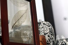 Enhance your fall decor in several ways with these DIY 'skeletonized' leaves. GORGEOUS results with waxy leaves and a pinch of patience ;)