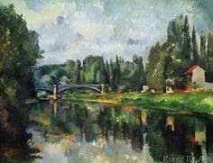 Paul Cézanne - Le Pont de Creteil (Pont sur la Marne, à Creteil