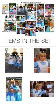 """Alice"" by rndmskttlz ❤ liked on Polyvore featuring art"