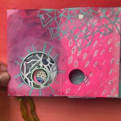 My Completed Collaborative Art Journal - Mindful Art Studio Best Art Books, Mandala Book, Concertina Book, Art Journal Inspiration, Journal Ideas, Journal Art, Art Journaling, Junk Journal, Collaborative Art