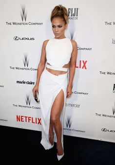 Jennifer Lopez attends The Weinstein Company & Netflix's Golden Globe Awards afterparty presented by FIJI Water, Lexus, Laura Mercier and Marie Claire at the Beverly Hilton Hotel in Beverly Hills, Calif., on Jan. 11, 2015.