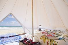 Bell Tent - Sibley Tent by Stout Tent on the Beach
